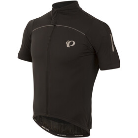 PEARL iZUMi Pro Pursuit Wind Short Sleeve Jersey Men black/black